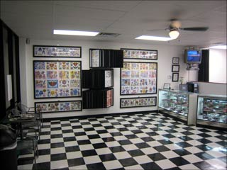 Tattoo Shop Interior